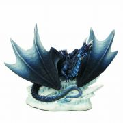 Dark Dragon Figurine Sculpture Ornament Home Decoration or Gothic Gift